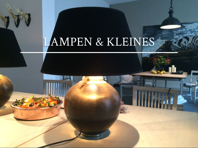 Lampen & Kleines